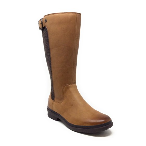 69fa6eb4510 UGG Womens Janina Snow Boot Chestnut Brown Waterproof Size 5 M US