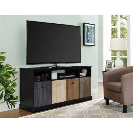 Altra Mercer 60″ TV Console with Multicolored Door Fronts, Multiple Colors