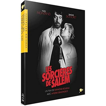 The Crucible (1957) ( Les sorci res de Salem ) (Blu-Ray & DVD Combo) [ Blu-Ray, Reg.A/B/C Import - France ] ()