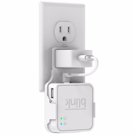 Outlet Wall Mount Hanger Holder Stand for Blink Sync Module with Easy Mount and Clean