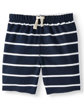 eeb669324284 Product Image The Children's Place Toddler Boys Stripe Print French Terry  Waistband Drawstring Short (Toddler Boys)
