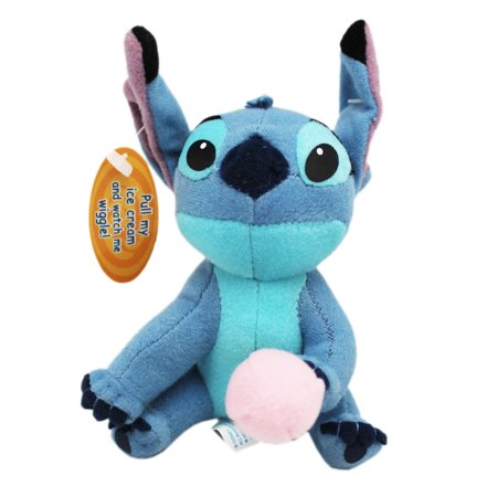 Disney's Lilo and Stitch Ice Cream Cone Wiggling Stitch Plush Toy](Ice Cream Plush)