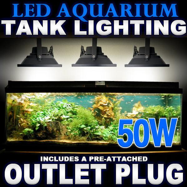Led Lamps 110v Led Aquarium Light Waterproof Clip-on Lamp Aquatic Plant Lighting Us Plug Energy Saving Us Standard