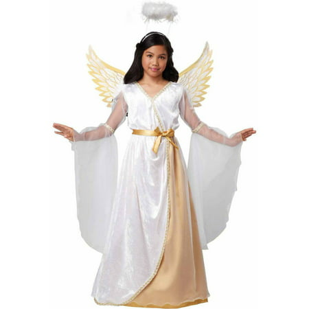 An Angel Costume (Guardian Angel Girls' Child Halloween)