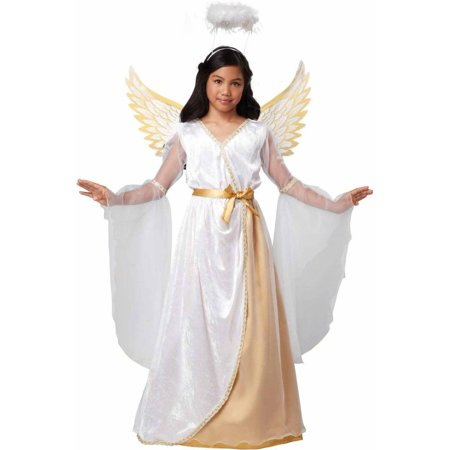 Cemetery Angel Halloween Costume (Guardian Angel Girls' Child Halloween)