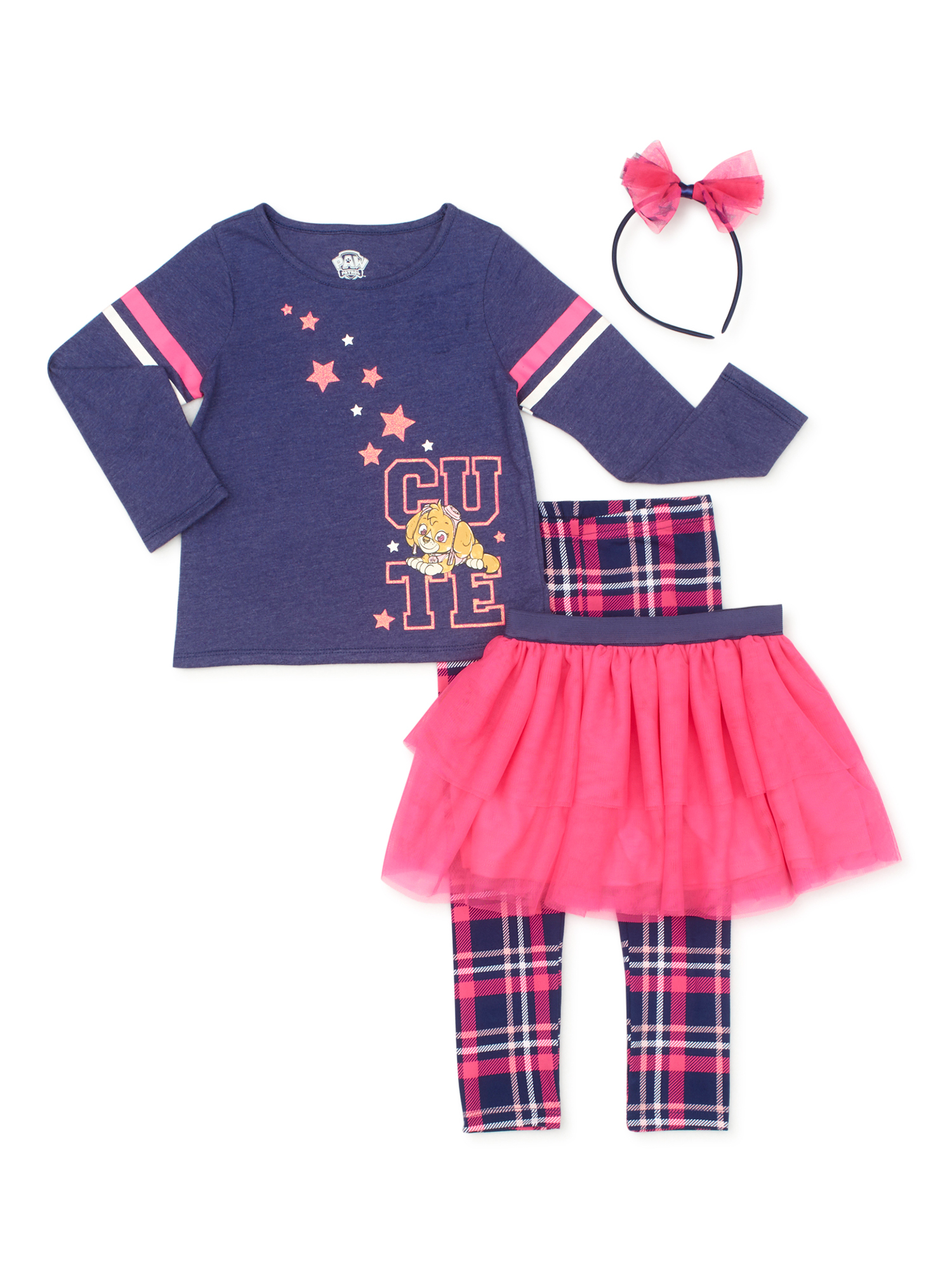 for 1-2 Years Old Little Children Janly Clearance Sale Baby Top Skirt Set 0-5 Years Old Toddler Girls Heart Pearl Tops Tee T-Shirt Skirts Set Outfits Clothes