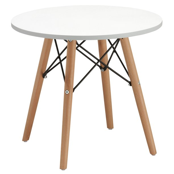 Duhome Coffee Tables Round Top Kitchen Dining Table Side Tables 20