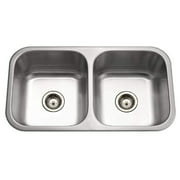 "Houzer Md-3109 Medallion 31-1/2"" Double Basin Undermount 18-Gauge Stainless Stee -"