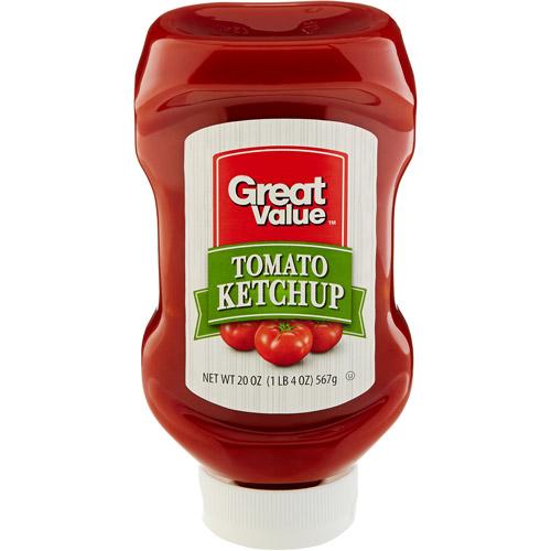 Great Value Ketchup, 20 oz