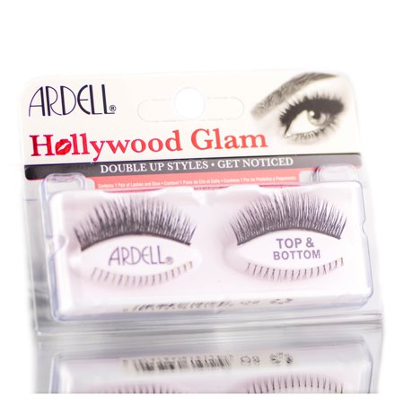 Ardell Professional Hollywood Glam Double Up Lashes - Option: Top & Bottom