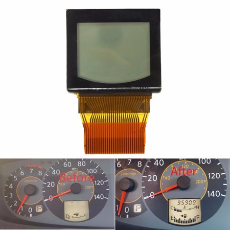 - For Nissan Quest 2004 2005 2006 Speedometer LCD Display Screen Cluster Odometer W/ Ribbon