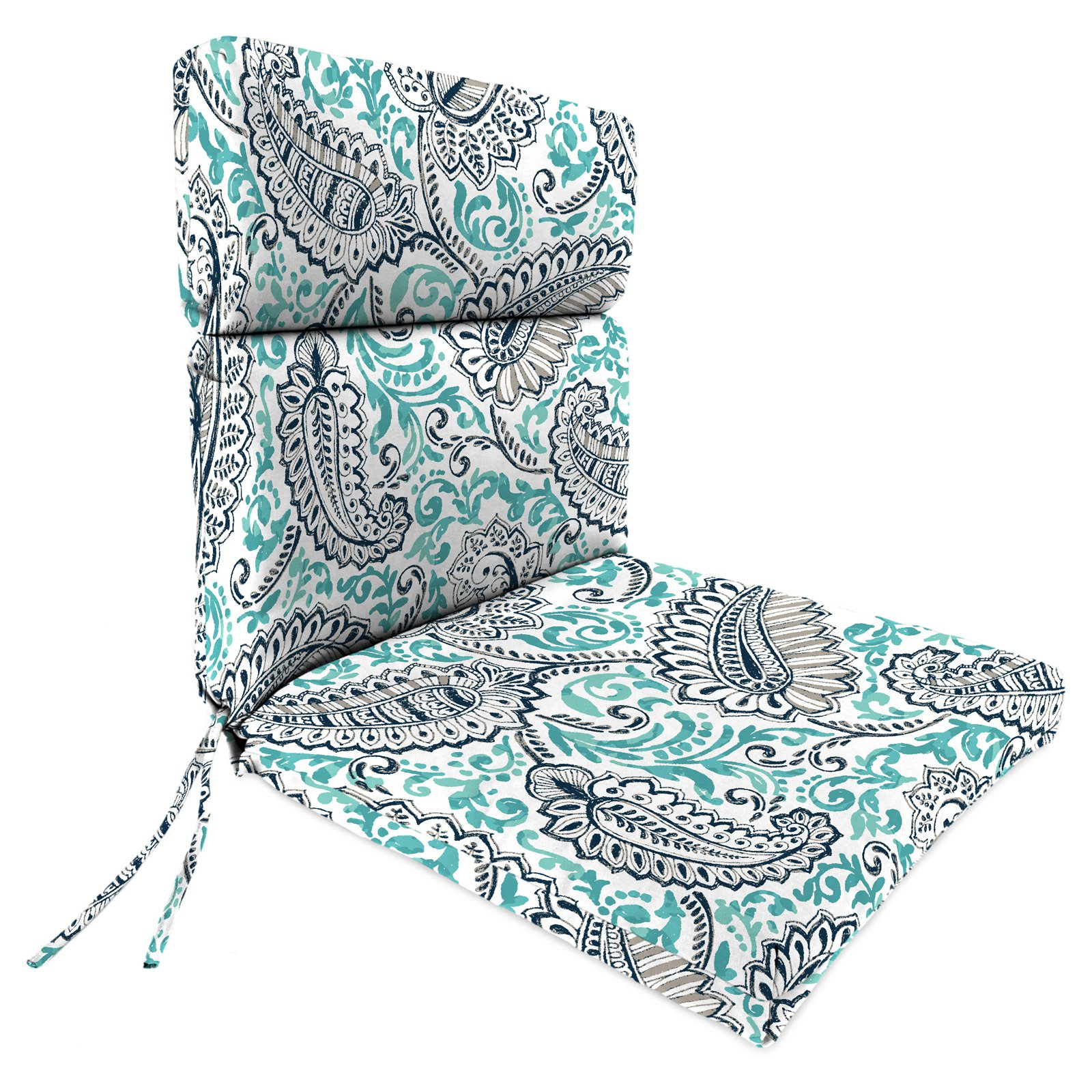 Jordan Manufacturing 45 in. High Back Outdoor Shannon Chair Cushion