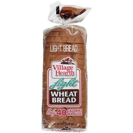 Village Hearth Light Wheat Bread, 16 oz - Walmart.com