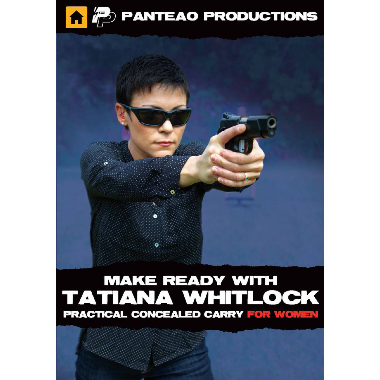 Panteao Make Ready with Tatiana Whitlock Conc Carry Women Video