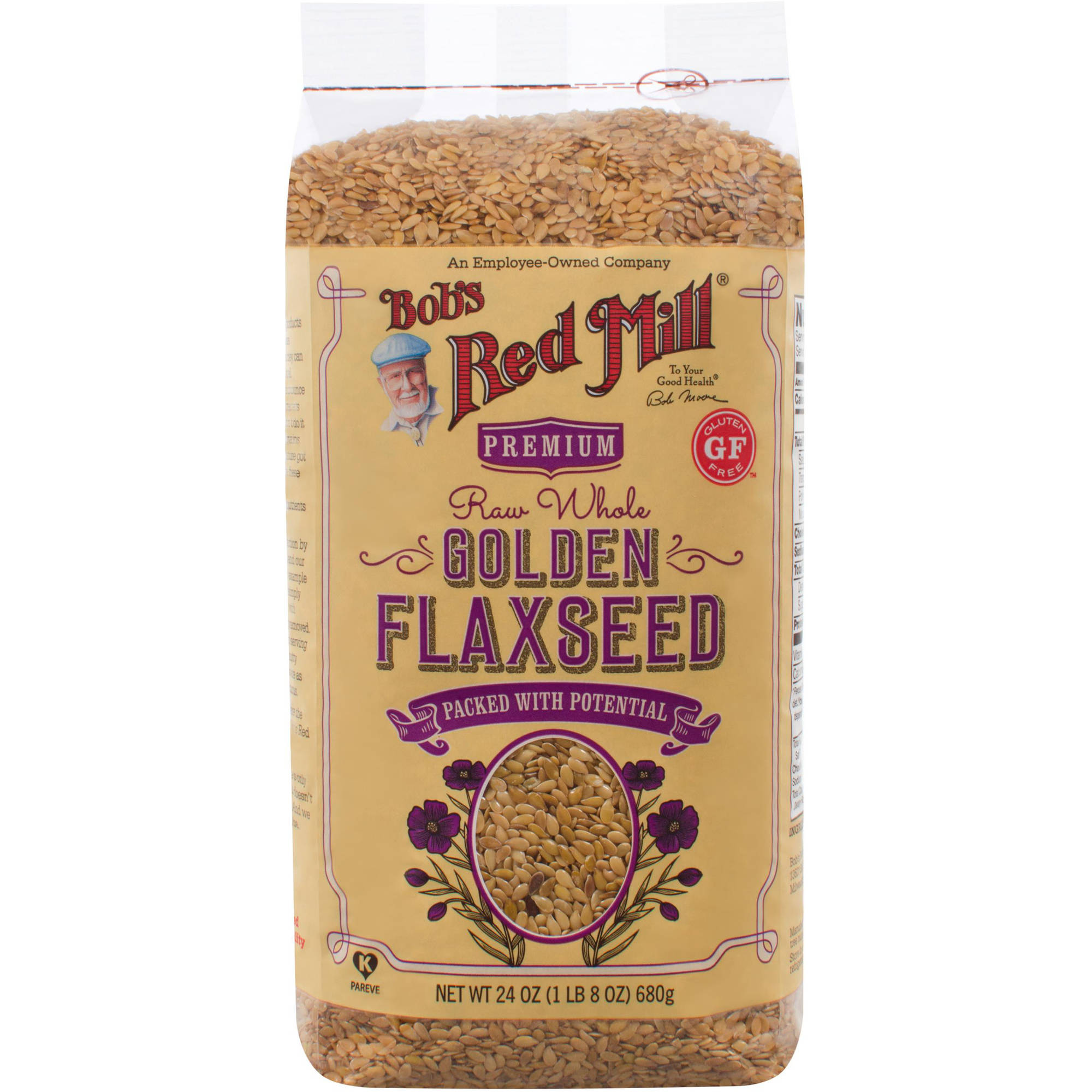 Bob's Red Mill Golden Flaxseed, 24 oz (Pack of 4)