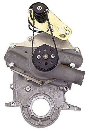 Moroso 63750 Drive Kit Electic Water Pump Drive Kit Universal V8 Or V6 American