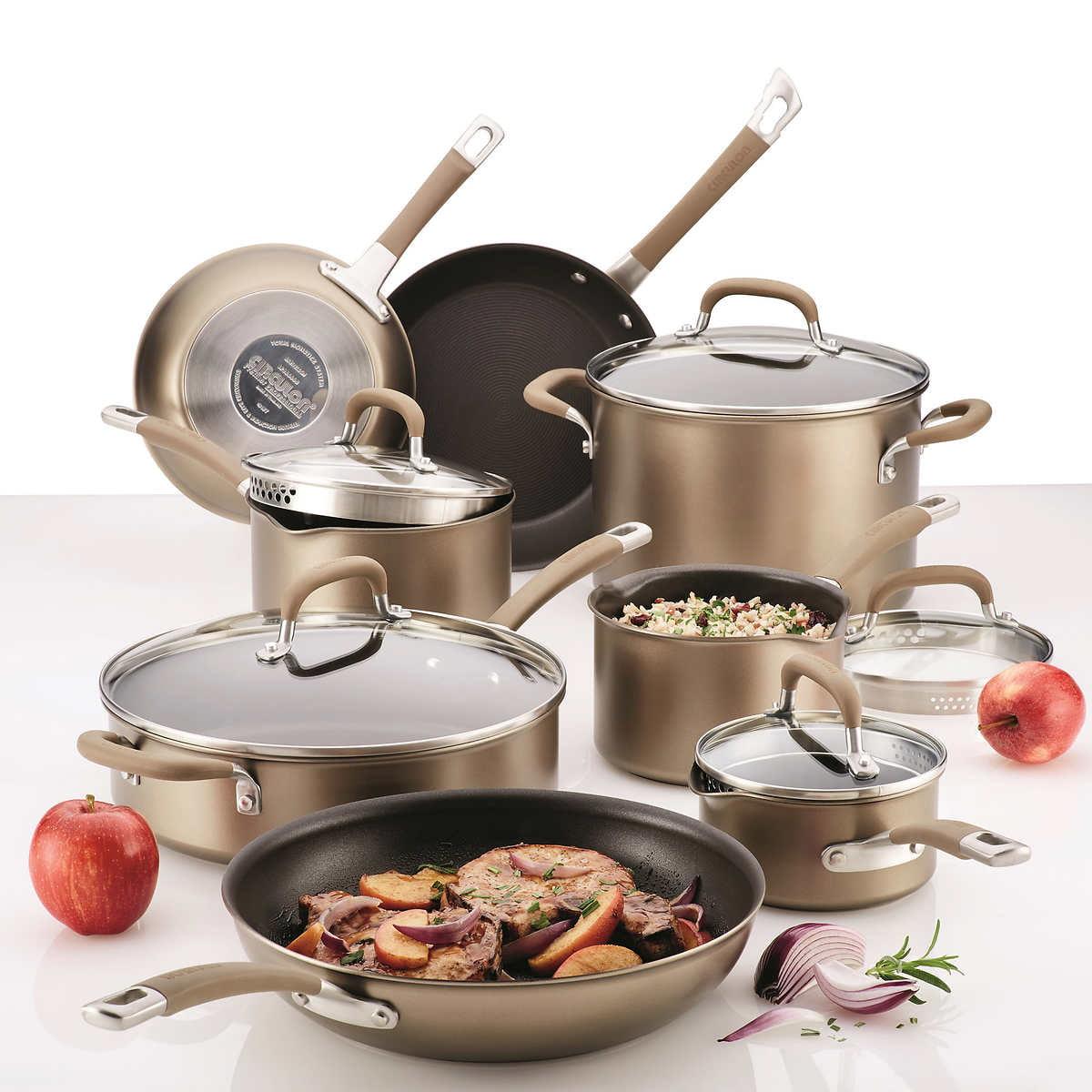 Circulon Premier Professional Nonstick 13-piece Cookware Set by