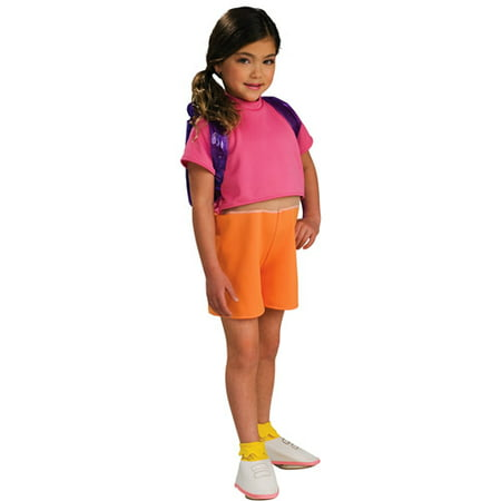 Dora Boots Costume Toddler (Dora Toddler Halloween Costume - One)