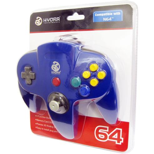N64 Controller Compatible for Nintendo 64 - Blue