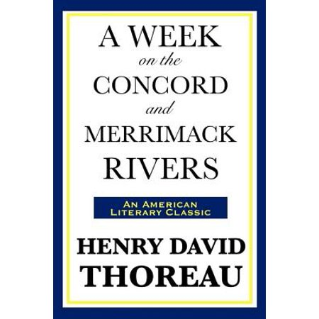 A Week on the Concord and Merrimack Rivers - eBook (Merrimack Halloween)