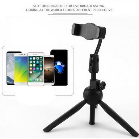 Shengshi New Universal Wireless Live Stand Bluetooth Selfie Stick Live Tripod Monopod for Gopro for iPhone Smartphone SLR Sport Camera Black -  HK5323