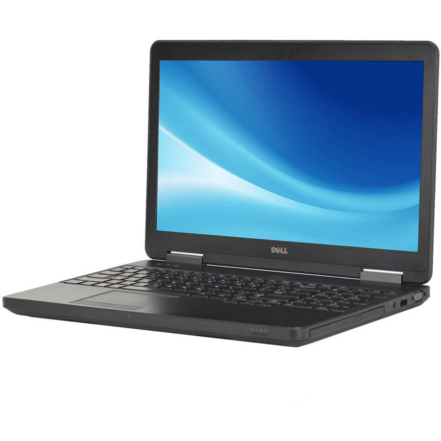 "Refurbished Dell Latitude E5540 15.6"" Laptop, Windows 10 Pro, Intel Core i5-4300U Processor, 8GB RAM, 500GB Hard Drive"