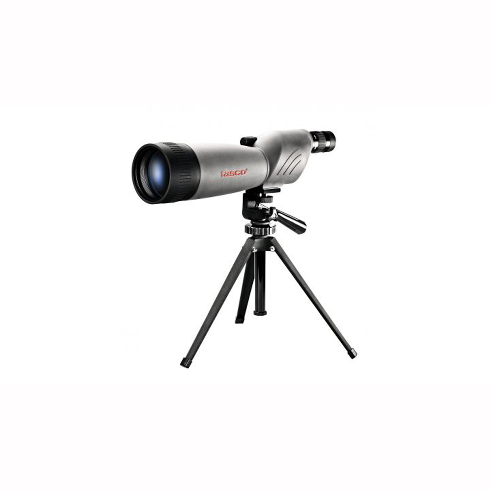 Tasco World Class Spotting Scope 20-60x80mm, Gray Black Porro Prism, Straight Eyepiece by Tasco