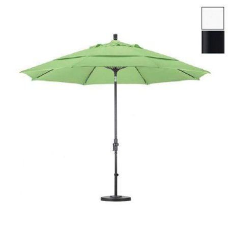 california umbrella 11 39 market patio umbrella in white