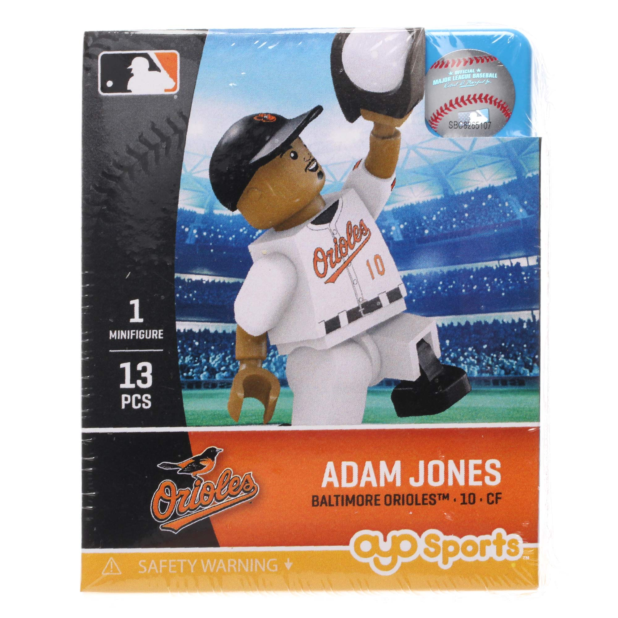 Adam Jones Baltimore Orioles OYO Sports Generation 5 Mini Figurine - No Size