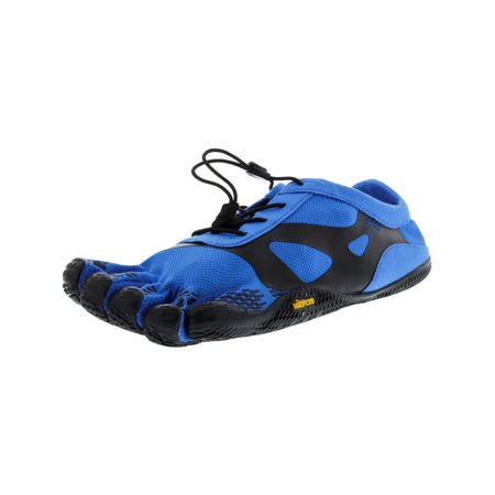 Vibram Five Fingers Men's Kso Evo Blue / Black Ankle-High Polyester Training Shoes -