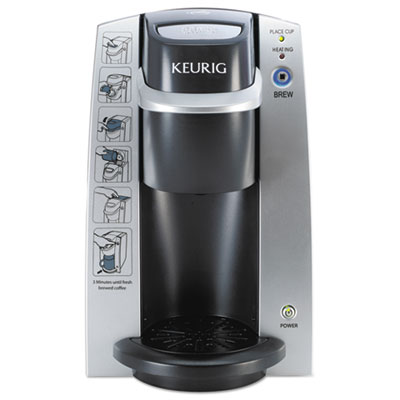 K130 Commercial Brewer, 7 x 10, Silver/Black, Sold as 1 Each