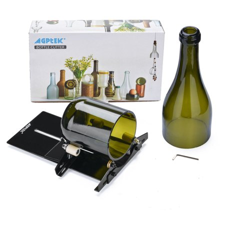 AGPtek Glass Bottle Cutter Machine Cutting Tool