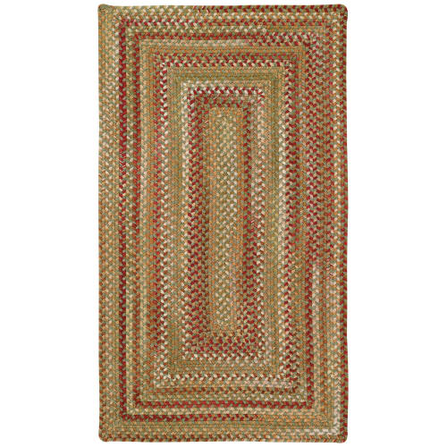 Capel 0048qs070009 Manchester 7 X 9 Rectangle Wool Braided Stripes