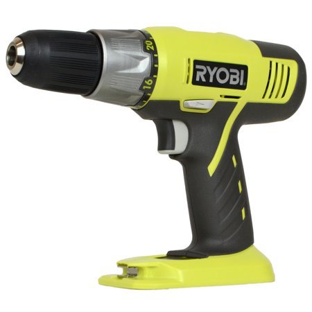 "Ryobi Tools P271 18V ONE+ 1/2"" Lithium-Ion 2-Speed Cordless Drill Driver, Bare Tool"