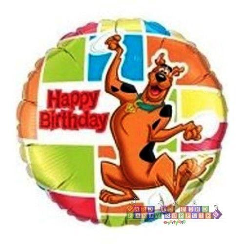 Scooby-Doo Happy Birthday Dancing Scooby Foil Mylar Balloon (1ct)