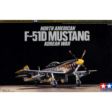 P-51 Mustang Korean War Plane Model Kit 1:72 Scale ()