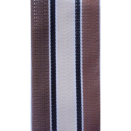 webbingpro(tm) lawn chair webbing kit - tan stripe lawn chair webbing 3 inches wide 50 feet long roll and 30 webbing screws