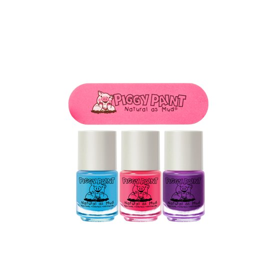 Piggy Paint Natural as Mud Nail Polish - Walmart.com