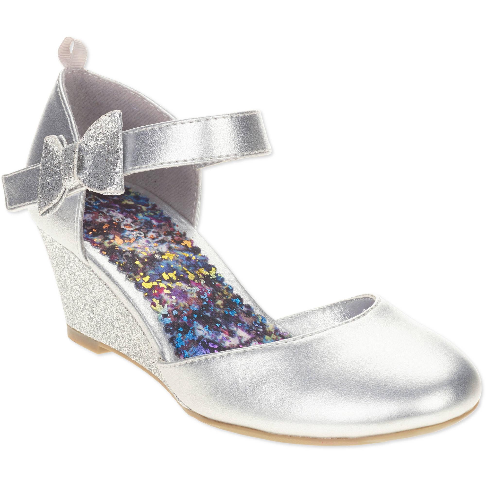 George Girls' Wedge Dress Shoe