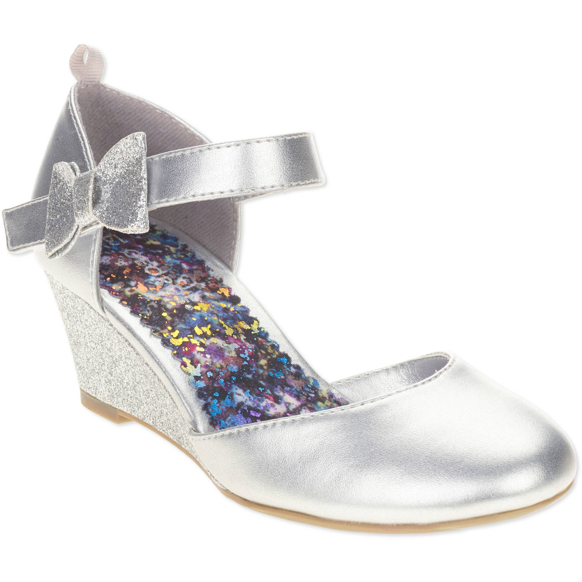 George Girls' Wedge Dress Shoe