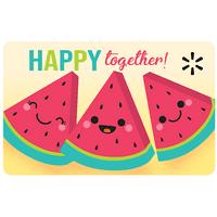Happy Together Walmart Gift Card