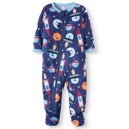 Toast & Jammies Blanket Sleeper Pajamas (Baby Boys)