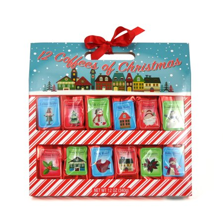 12 Coffees of Christmas Gift Set, 12 Pieces