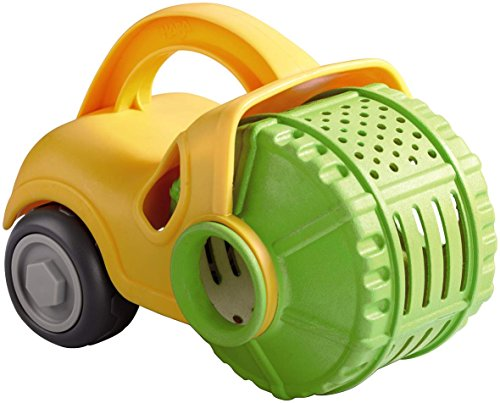 Click here to buy HABA Play Steam Roller Construction Vehicle Sand Toy by HABA.