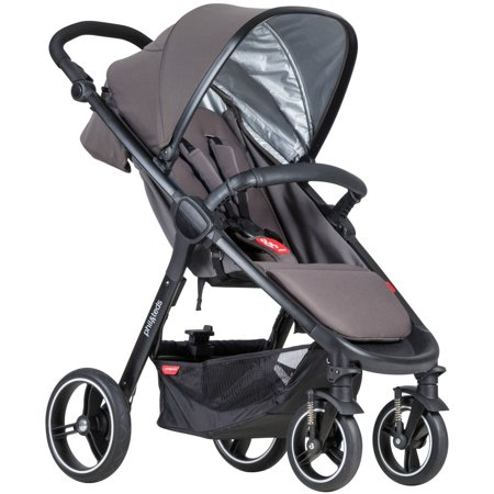 phil&teds Smart Stroller (Phil And Teds Navigator Stroller With Doubles Kit)