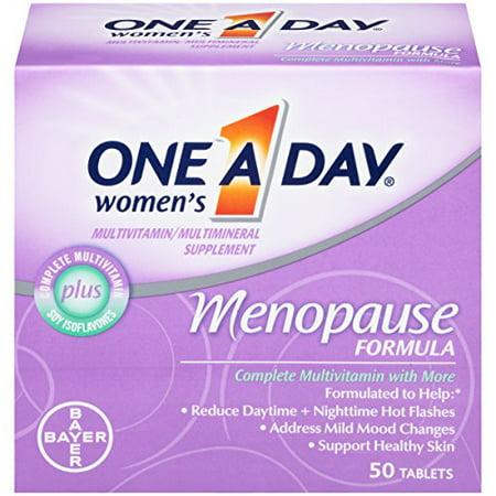 One-A-Day Femmes Ménopause Formula multivitamines, 50 comprimés Bouteille Chaque