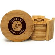 MLB Athletics Team Coaster Set