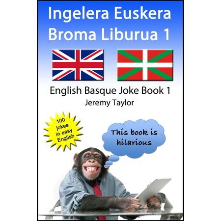 Ingelera Euskera Broma Liburua 1 (The English Basque Joke Book 1) - eBook](Bromas Divertidas Halloween)