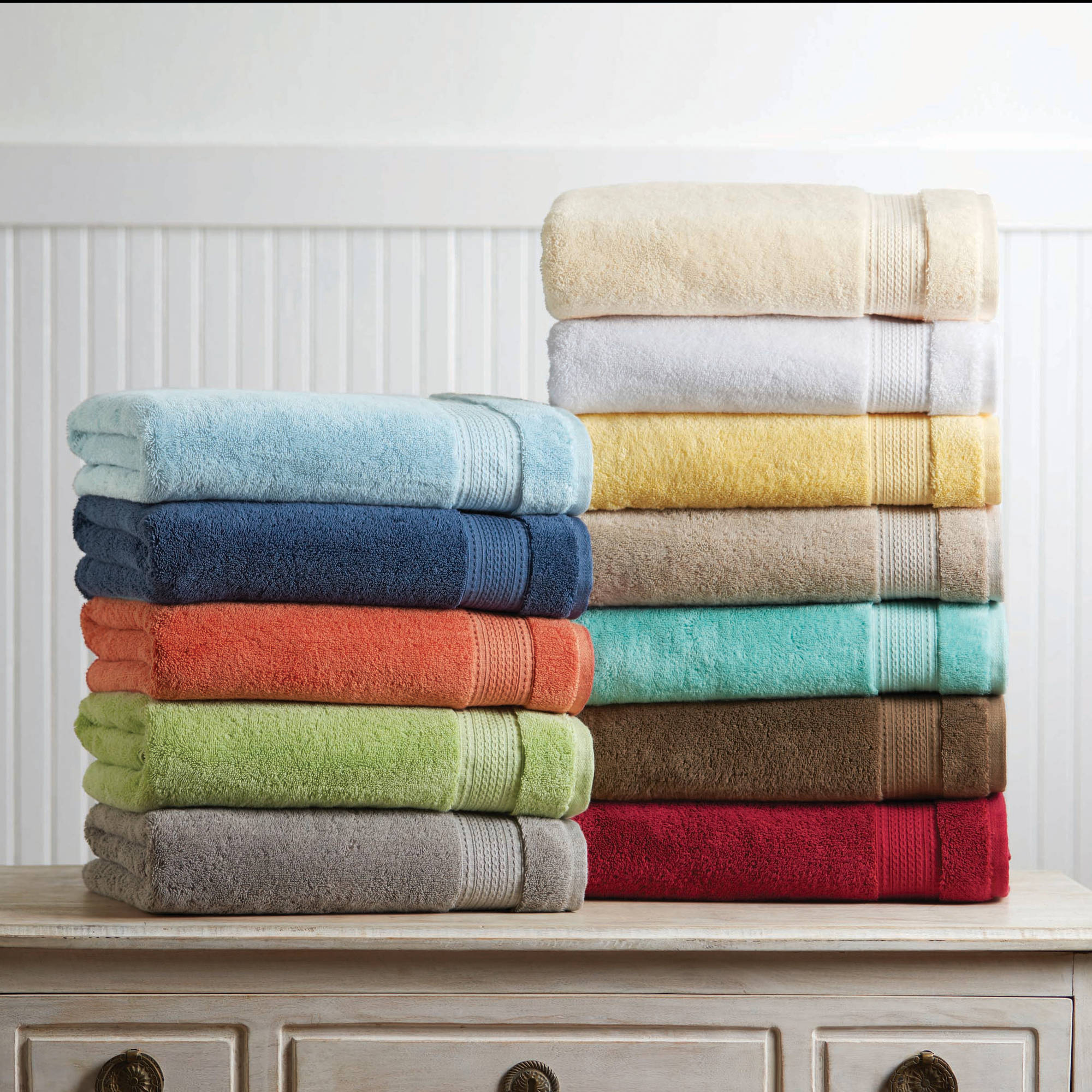better homes and gardens hygro pima towel collection walmartcom - Houston Home And Garden Magazine