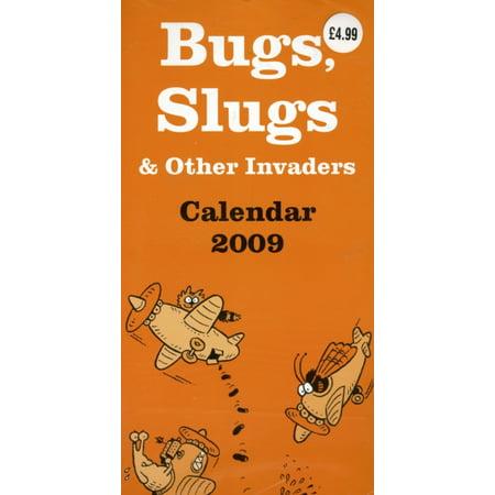Bugs  Slugs And Other Invaders Super Slim Calendar  Na   Calendar